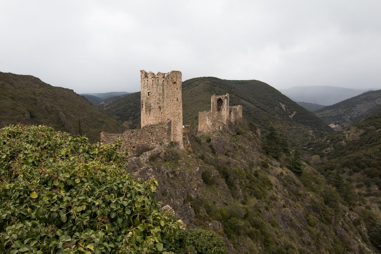 Torre Regine y Castillo Querthineux en Lastours