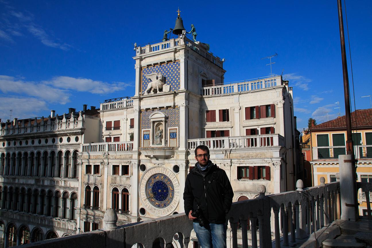 Torre reloj astronomico Venecia