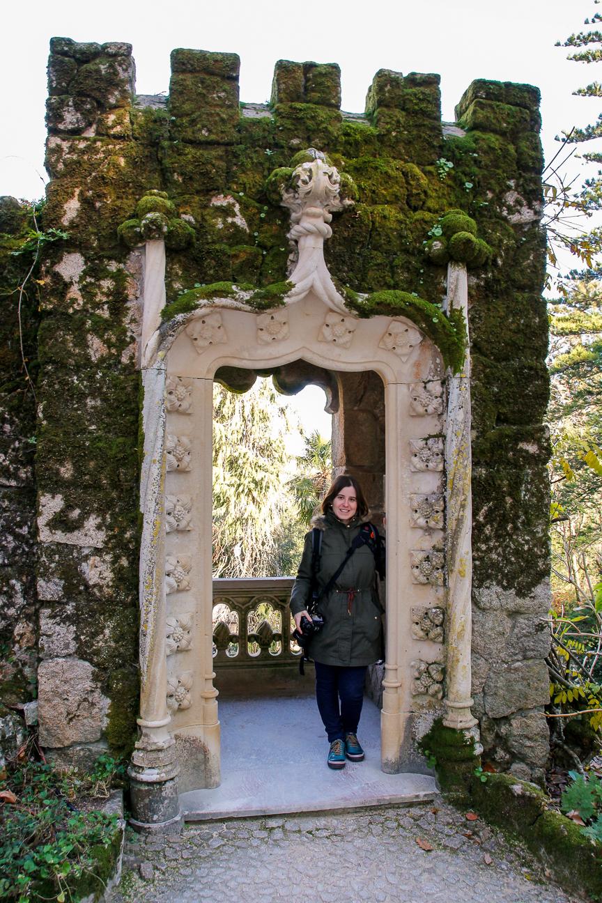 Torreones en la Quinta da Regaleira
