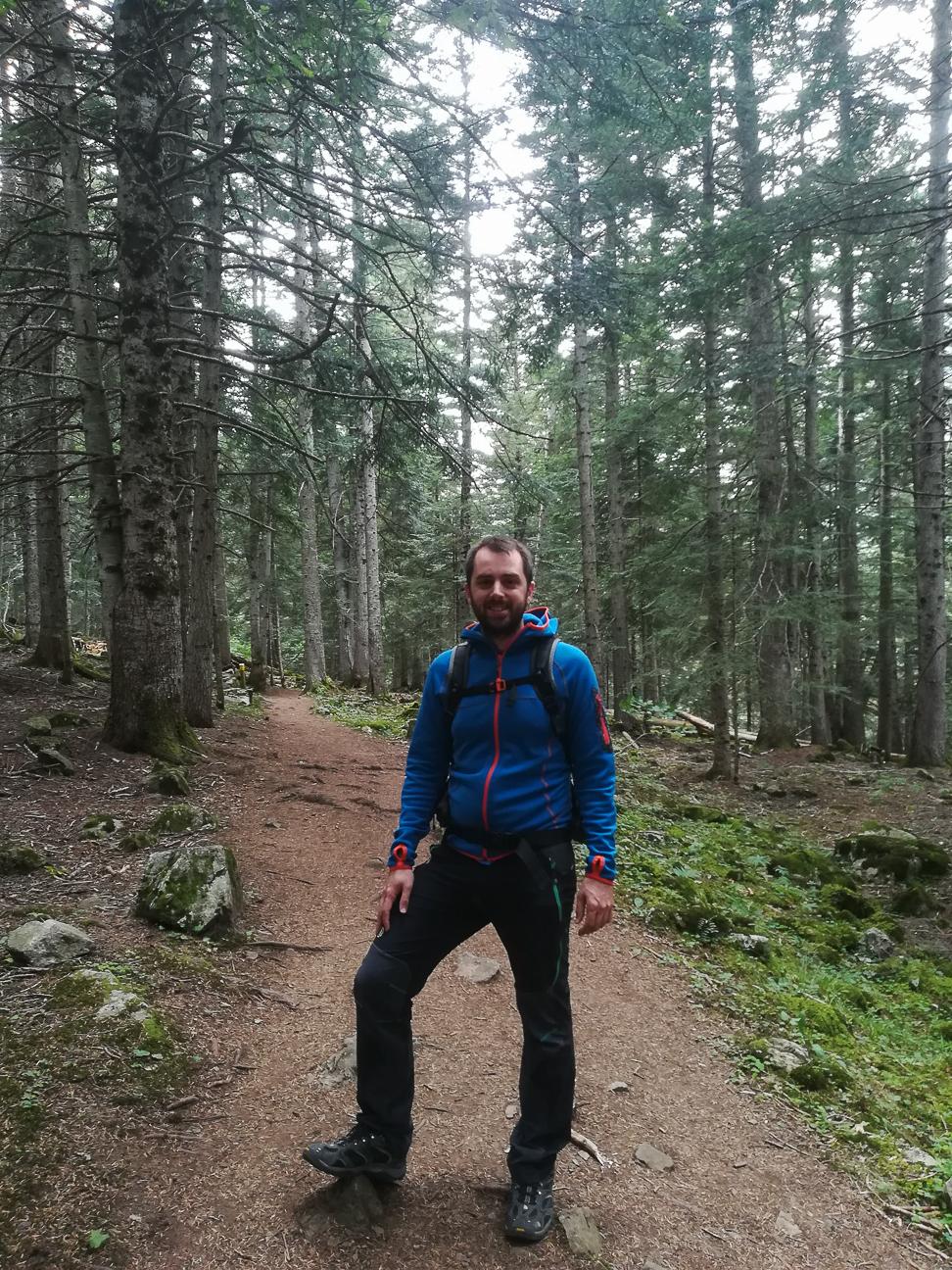 Trekking bosque Gerdar Ara Lleida