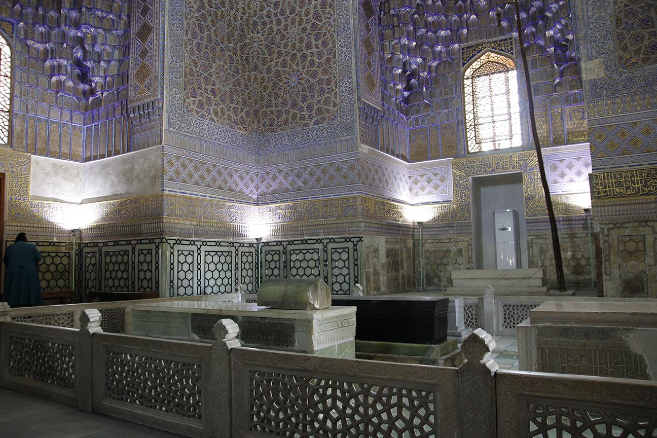 Tumba de Gur-e-Amir en Samarcanda