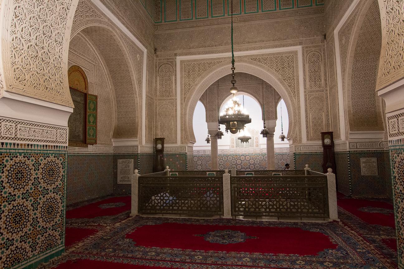 tumba mulay ismail meknes marruecos sultan
