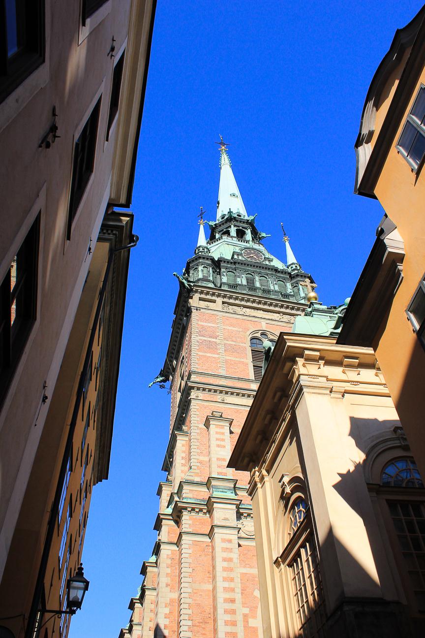 Tyska Kirkan Iglesia Alemana en Estocolmo