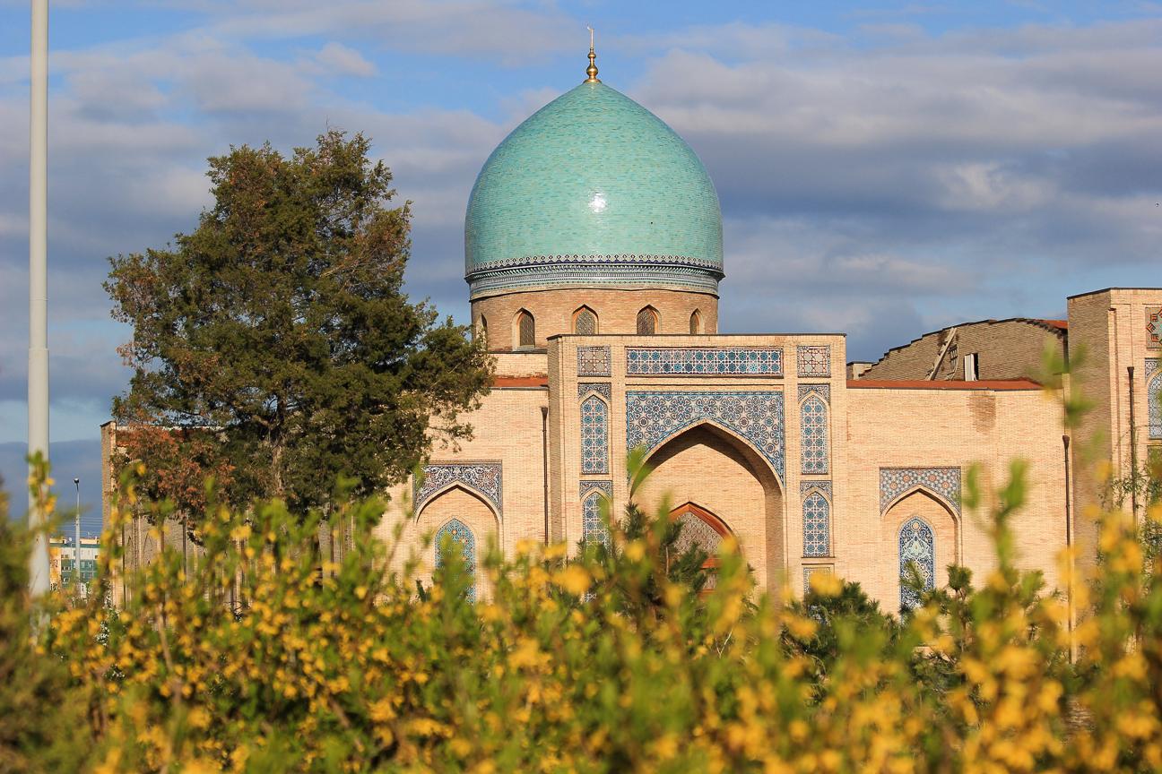 Un lugar precioso en Tashkent