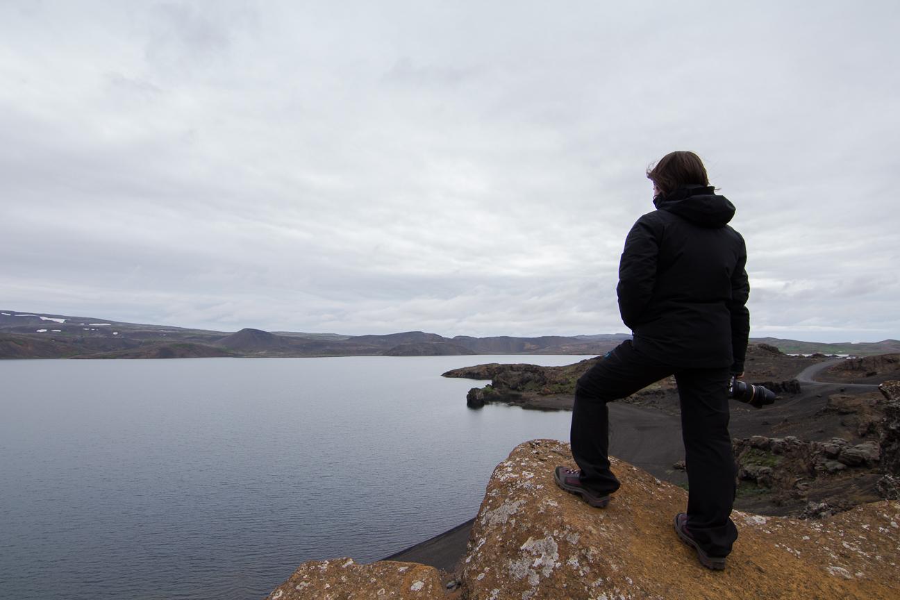 Un paisaje que te atrapa en Islandia