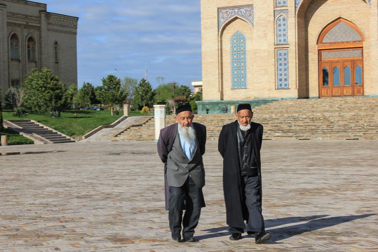 Uzbekos en Hazrat Imam