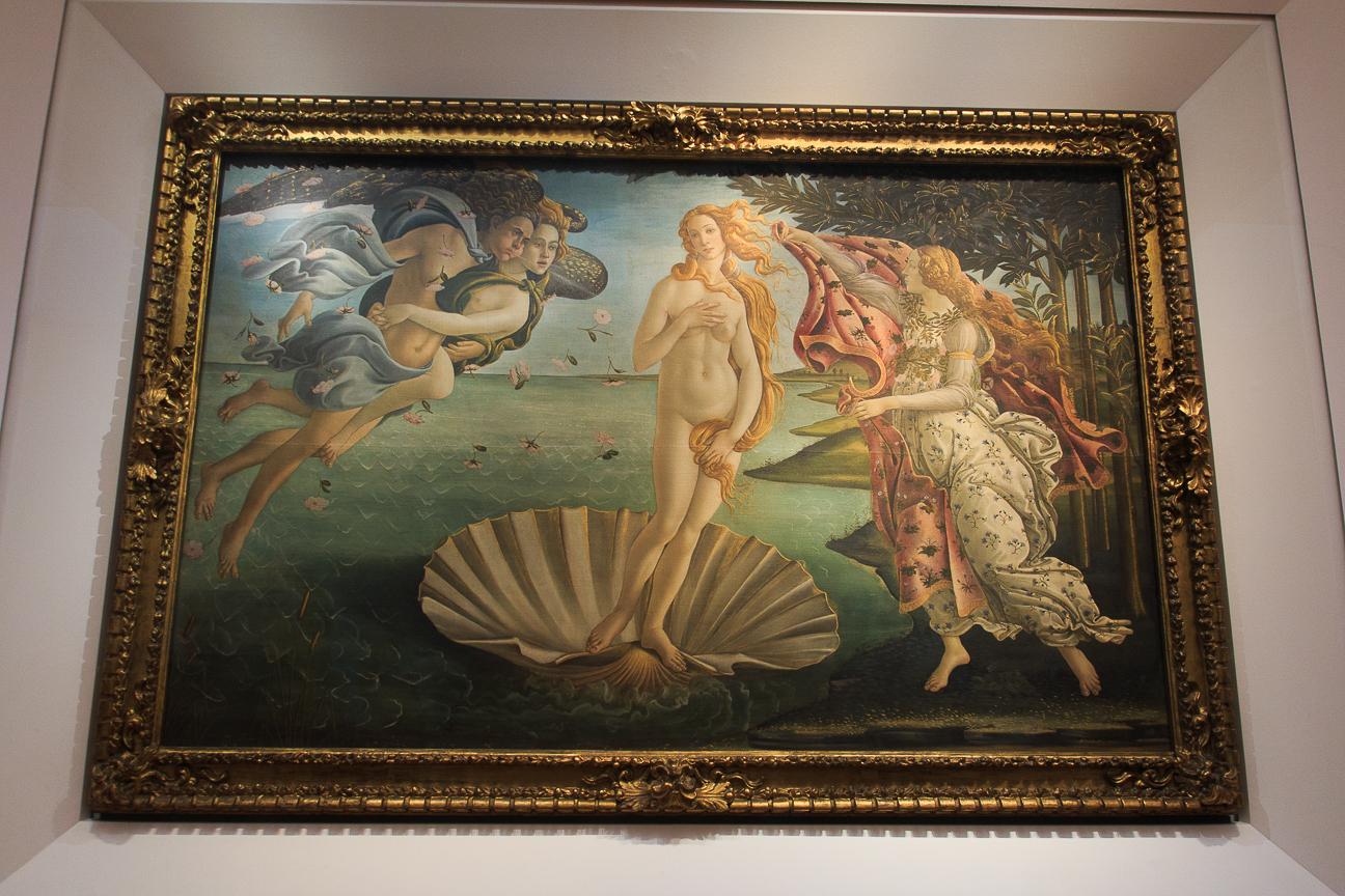 Venus de milo en los Uffizi Florencia