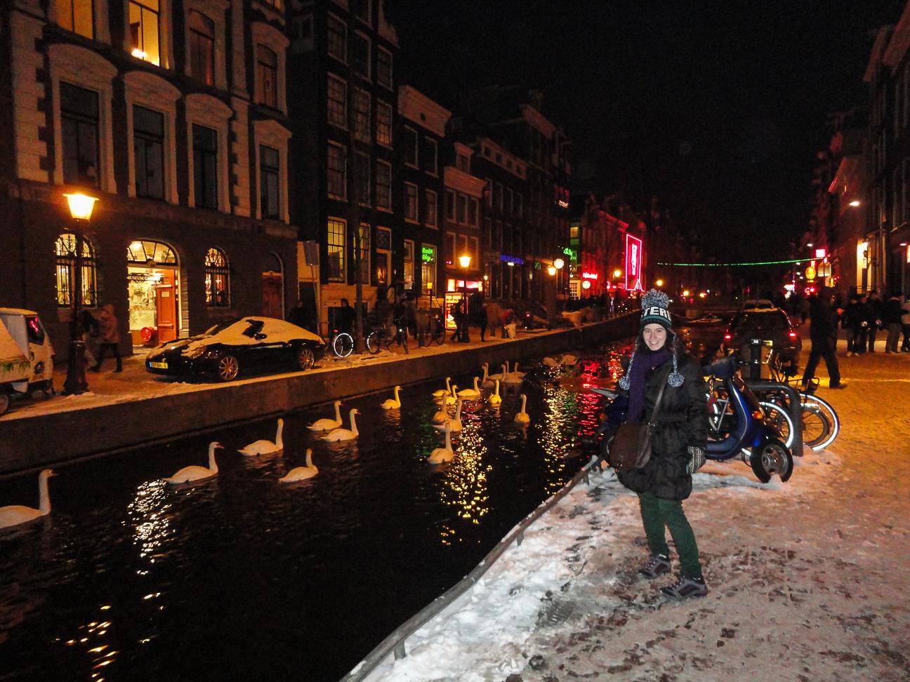 Viajar a Amsterdam - Barrio Rojo