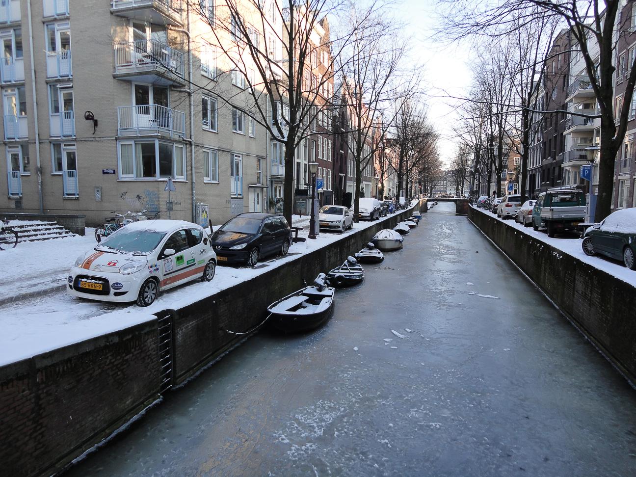 Viajar a Amsterdam - Frio en invierno