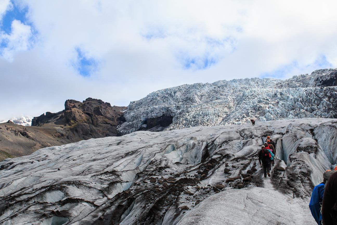 Viajar a Islandia - Excursion glaciar