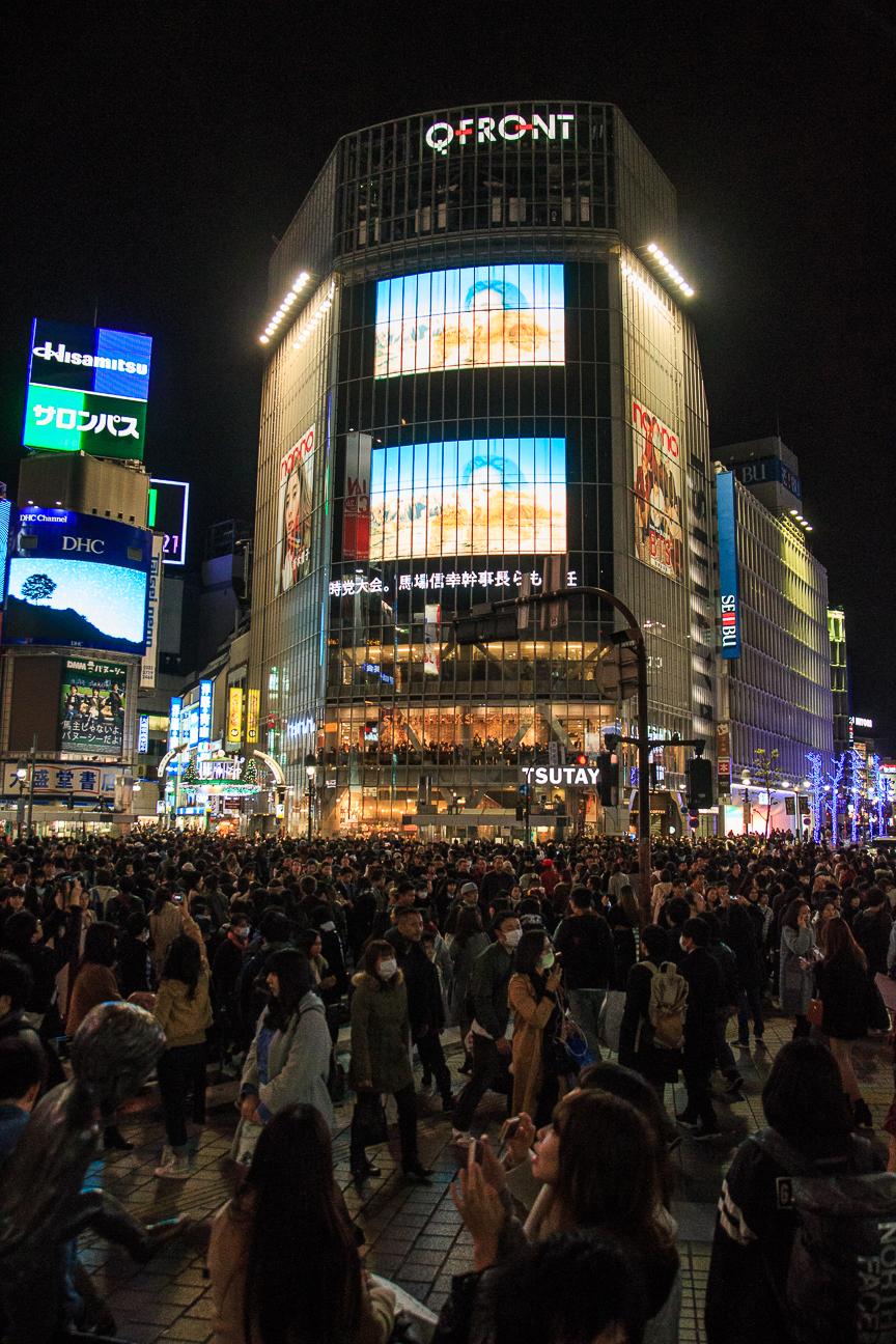Viajar a Japon cruce Shibuya