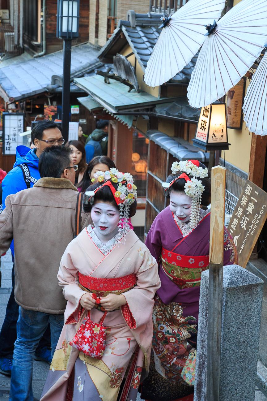 Viajar a Japon Maikos
