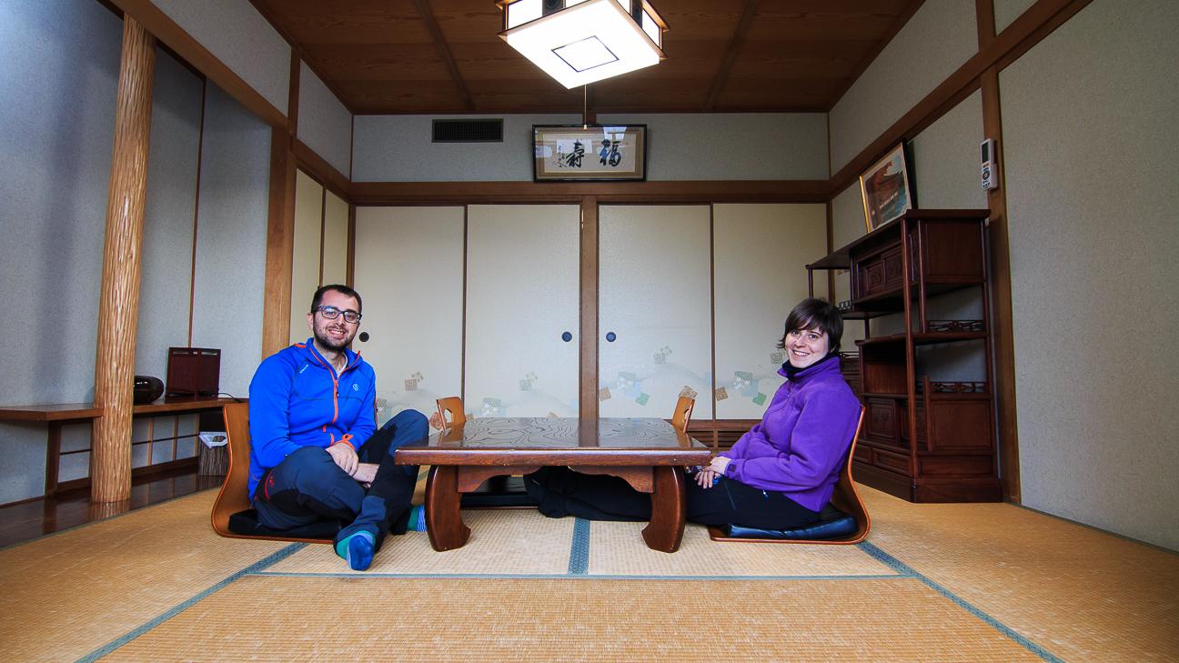 Viajar a Japon Ryokan Miyajima