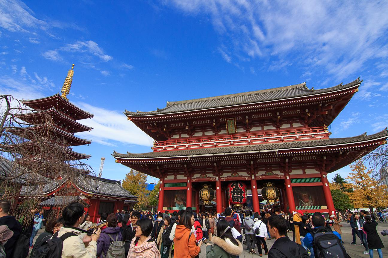 Viajar a Japon Senso-Ji en Kyoto