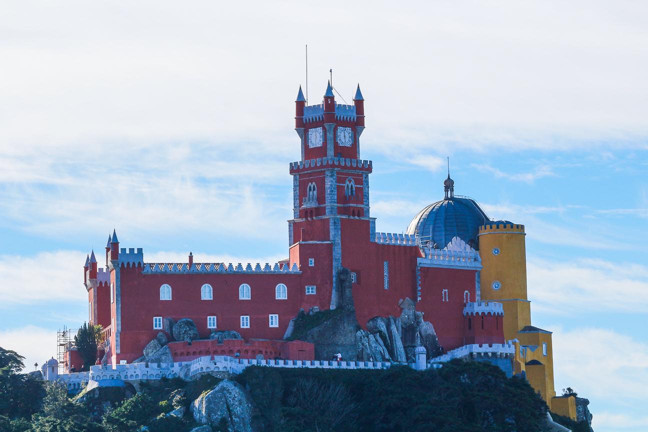 Viajar a Lisboa Castillo da Pena en Sintra