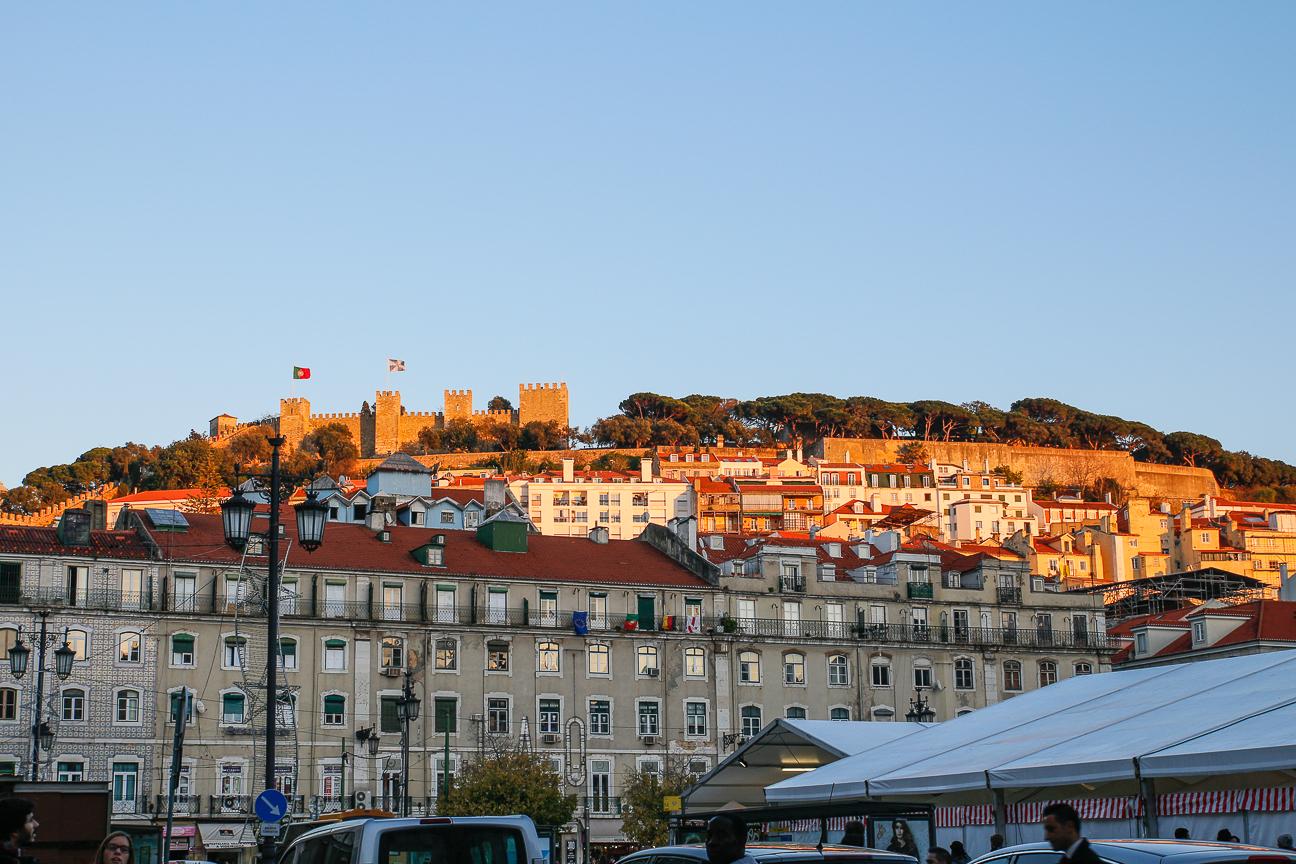 Viajar a Lisboa Castillo de San Jorge