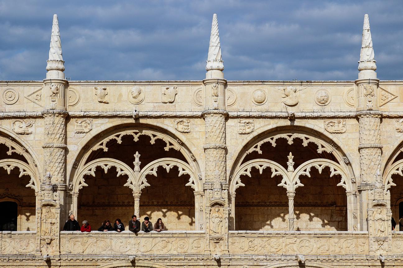 Viajar a Lisboa Claustro de los Jeronimos