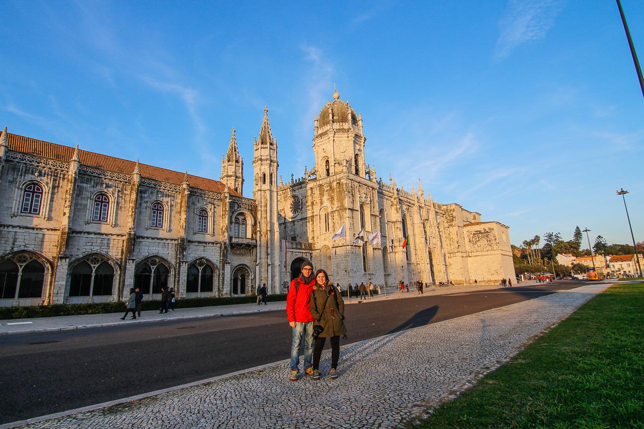 Viajar a Lisboa Monasterio de los Jeronimos