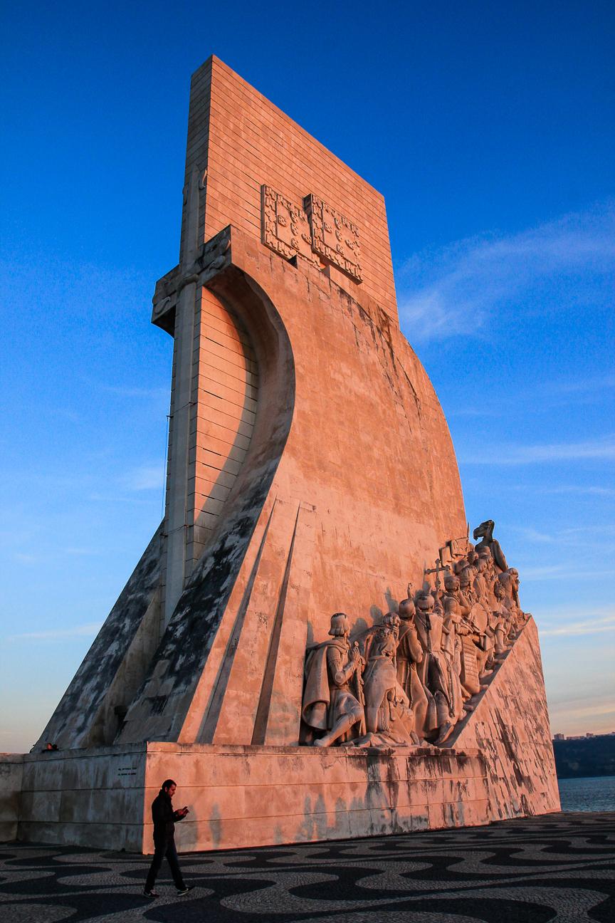 Viajar a Lisboa Monumento conquistadores