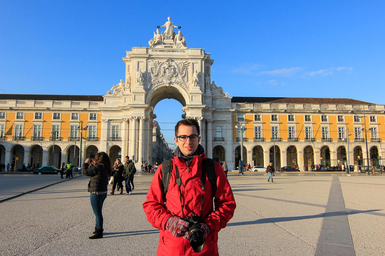 Viajar a Lisboa Plaza del Comercio