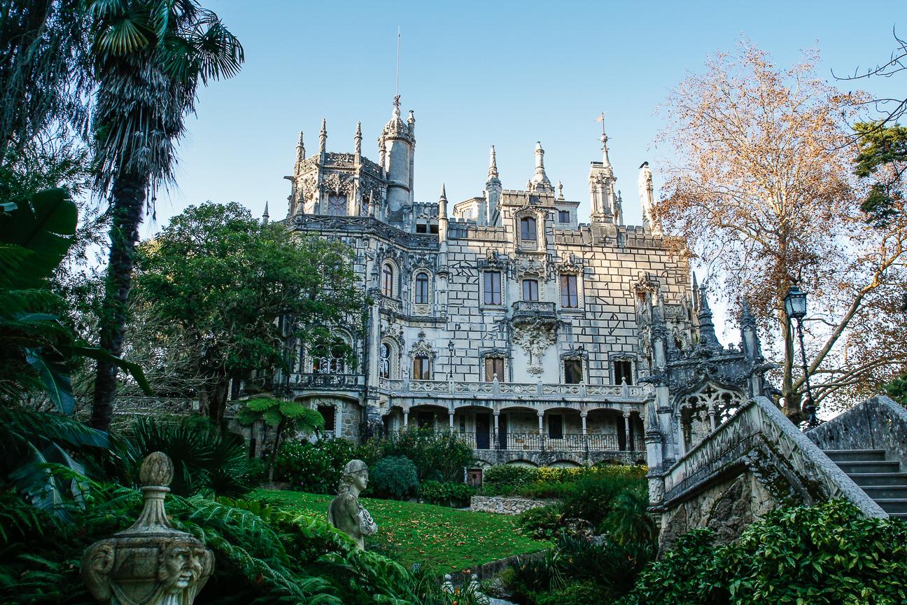 Viajar a Lisboa Quinta Regaleira en Sintra
