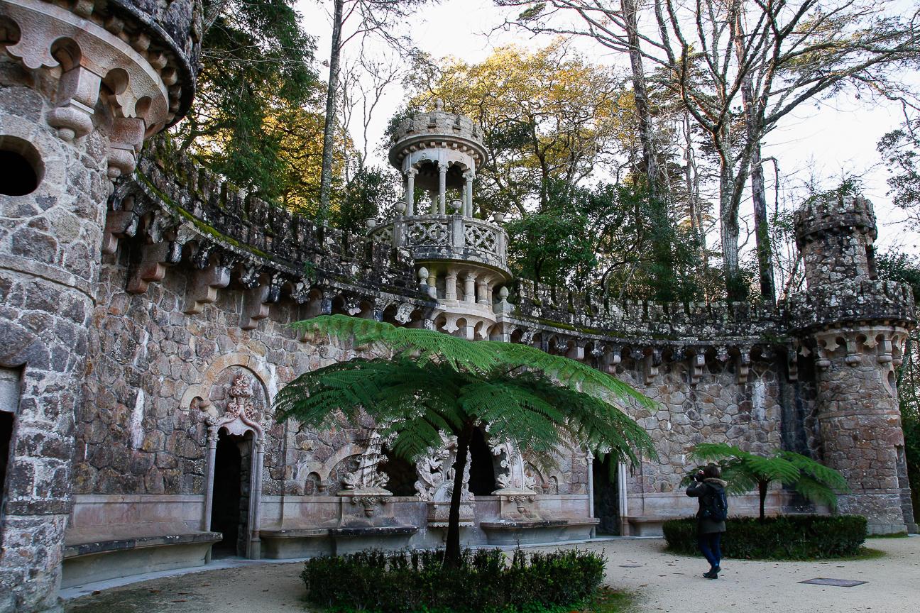 Viajar a Lisboa Quinta Regaleira y sus jardines