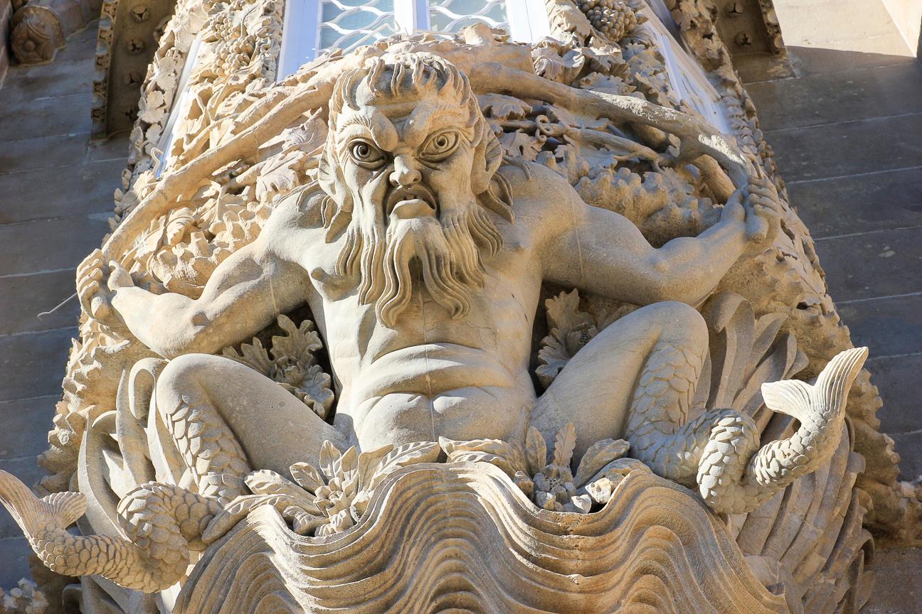 Viajar a Lisboa Triton en Castillo da Pena