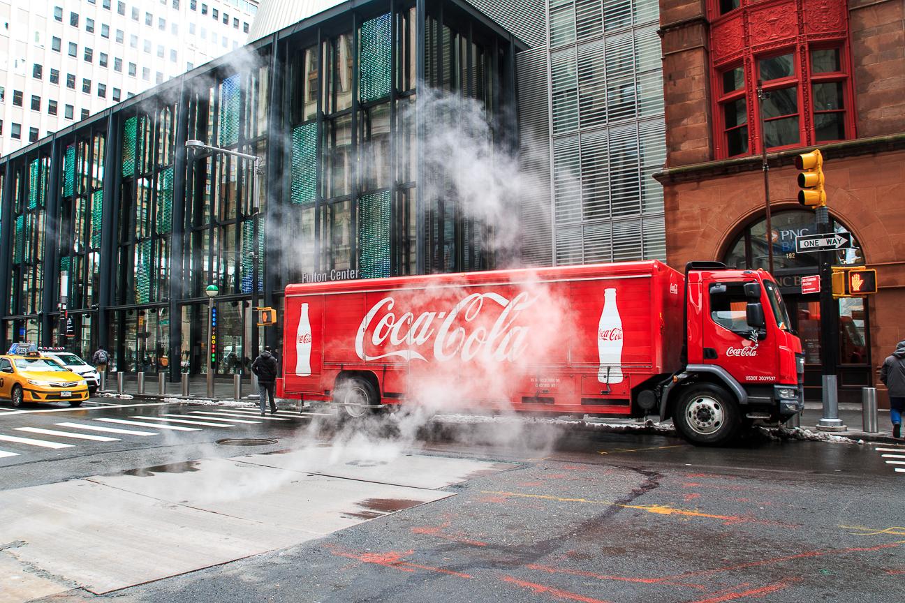 Viajar a Nueva York Coca Cola