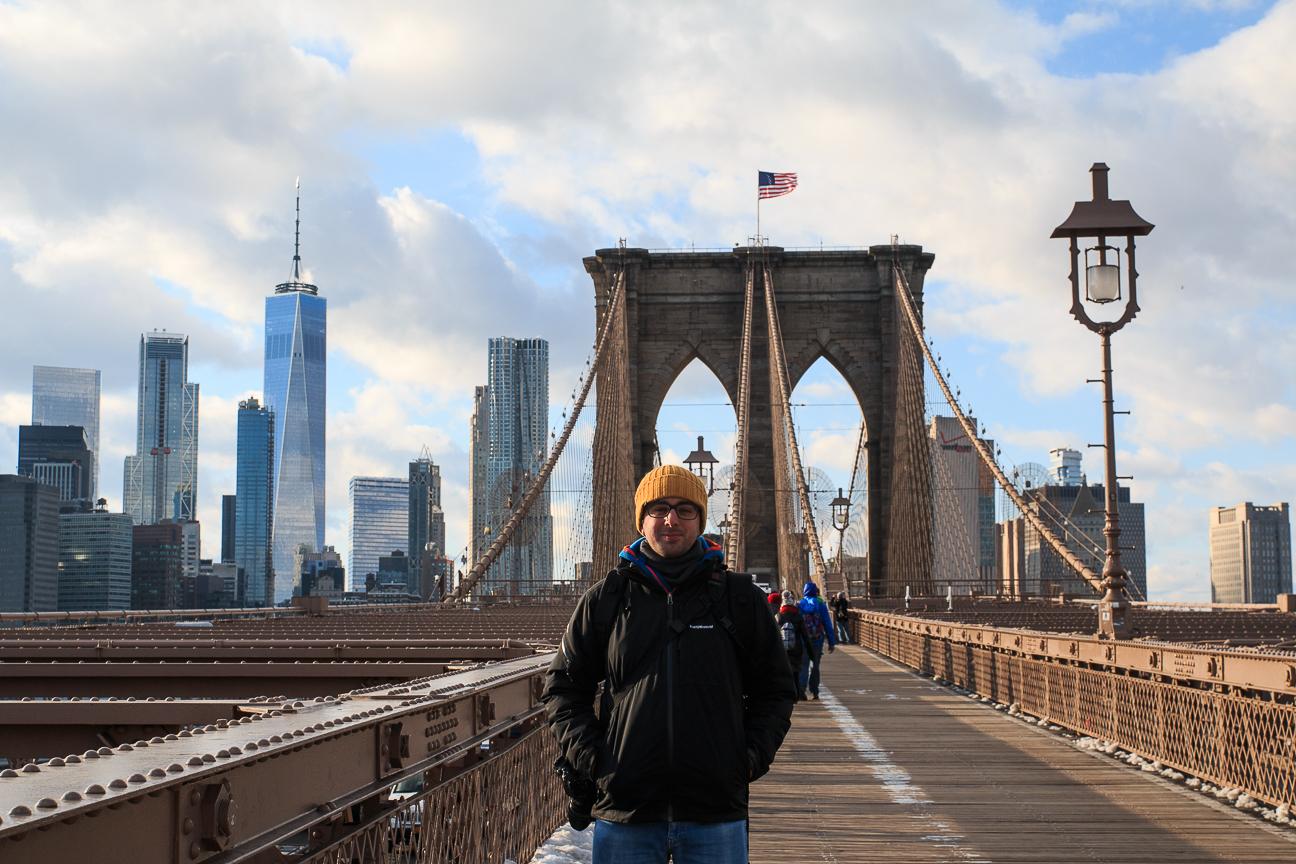 Viajar a Nueva York puente Brooklyn