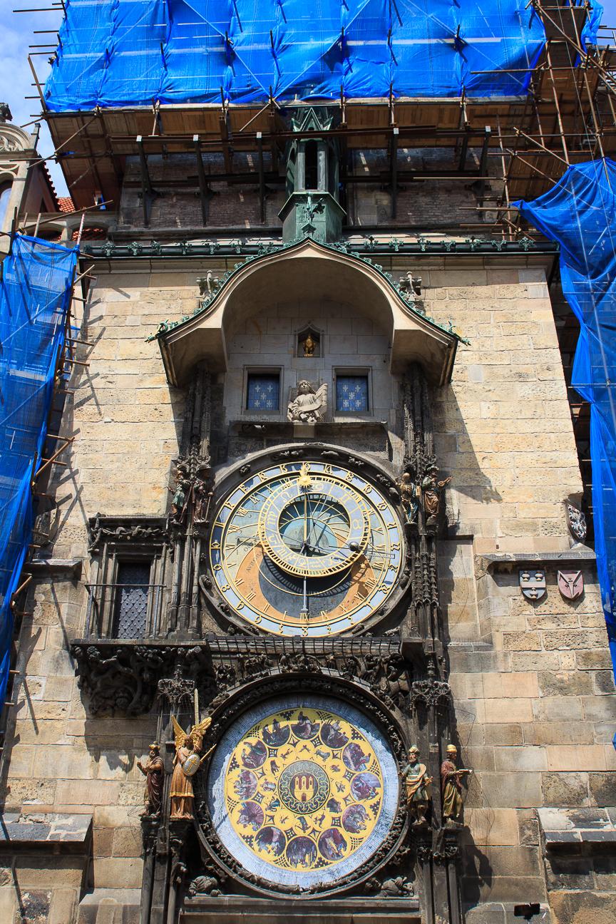 Viajar a Praga reloj astronomico