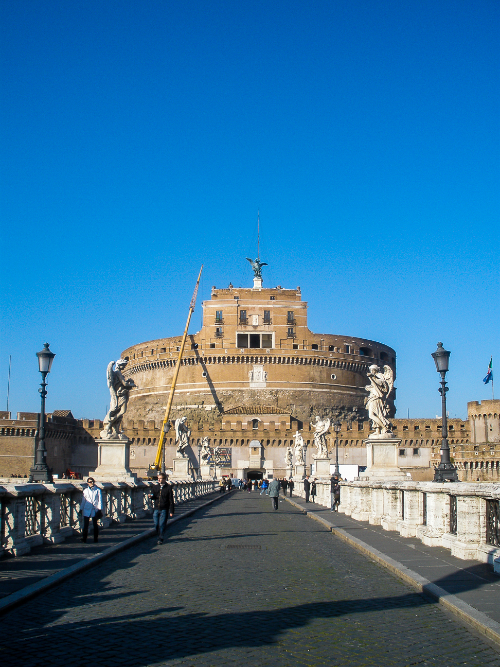 Viajar a Roma Castelo de San Angelo