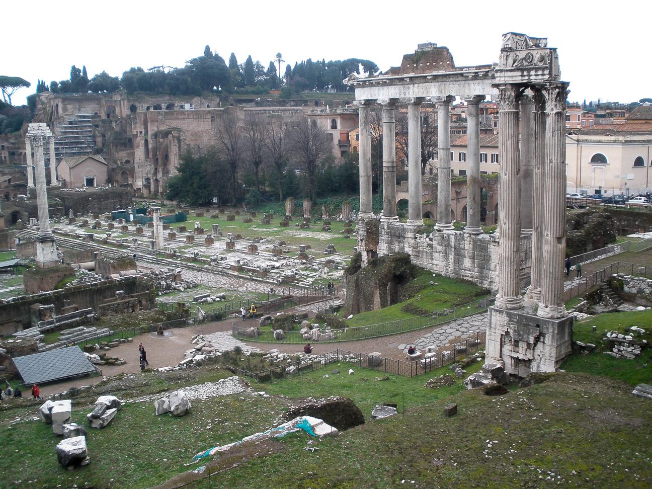 Viajar a Roma Foro Romano