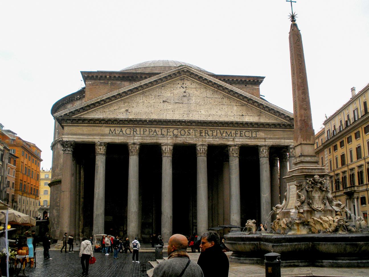 Viajar a Roma Panteon