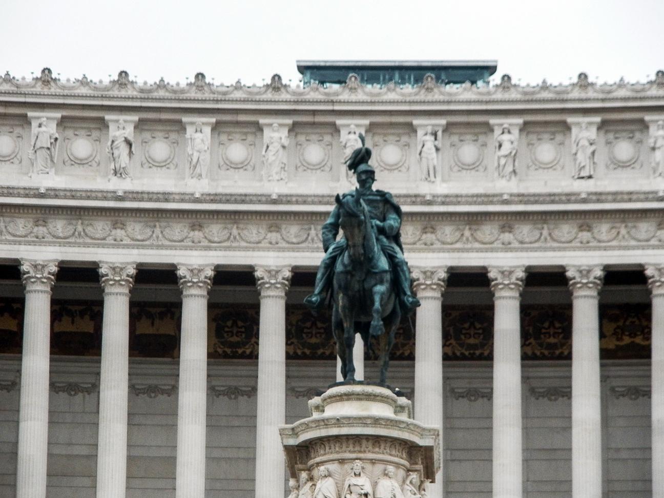 Viajar a Roma Vittorio Emmanuelle