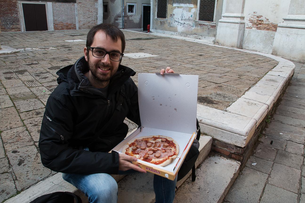 Viajar a Venecia Comer barato