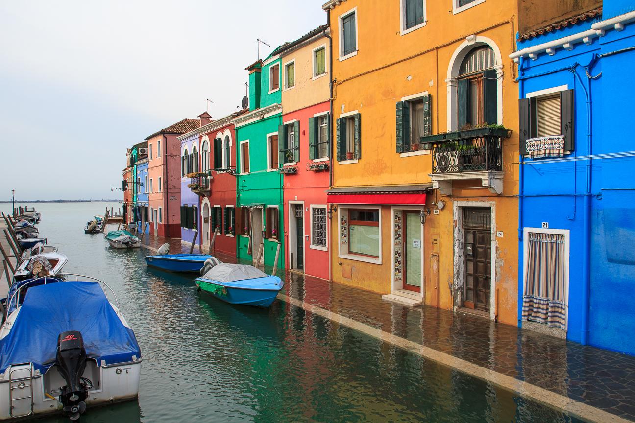 Viajar a Venecia Isla Burano