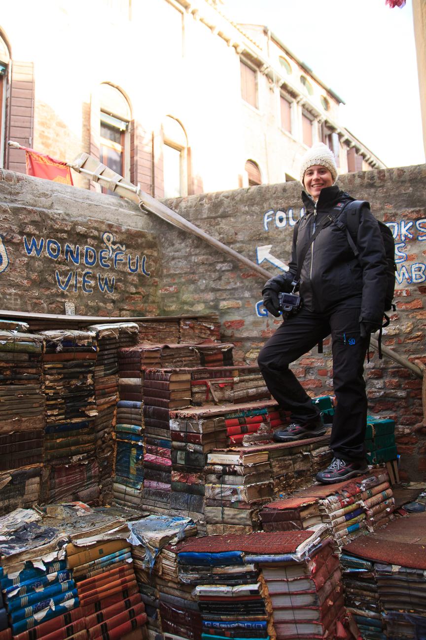 Viajar a Venecia Libreria Acqua Alta