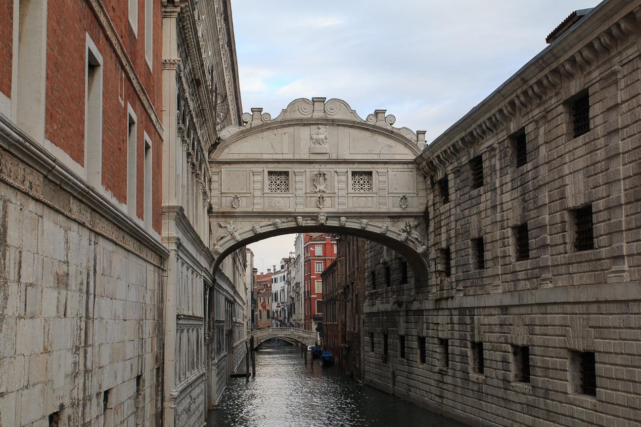 Viajar a Venecia Puente de los Suspiros