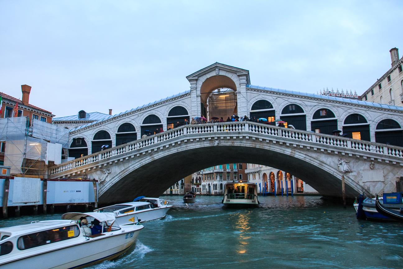 Viajar a Venecia Puente Rialto