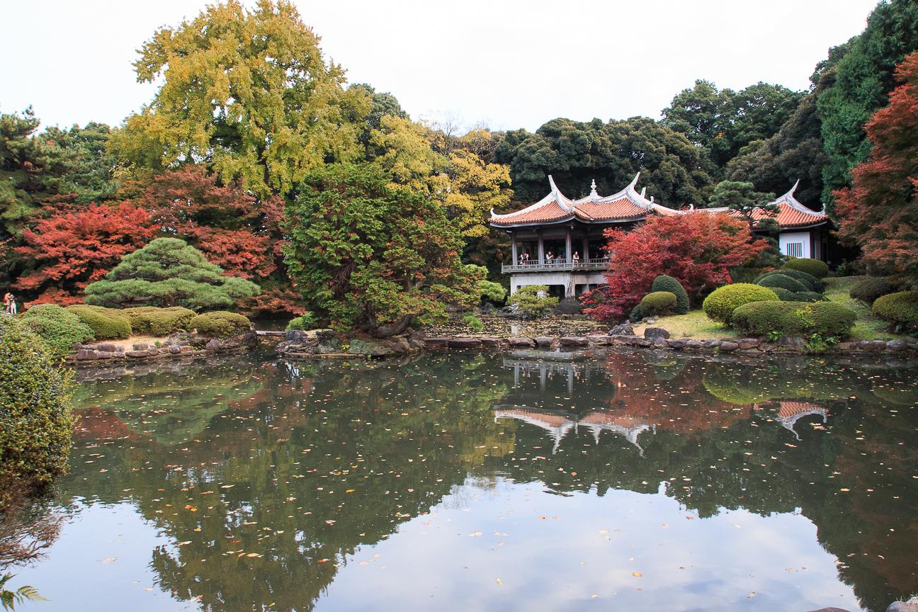 Viaje a Japon Jardin Nacional Shinjuku Gyoen