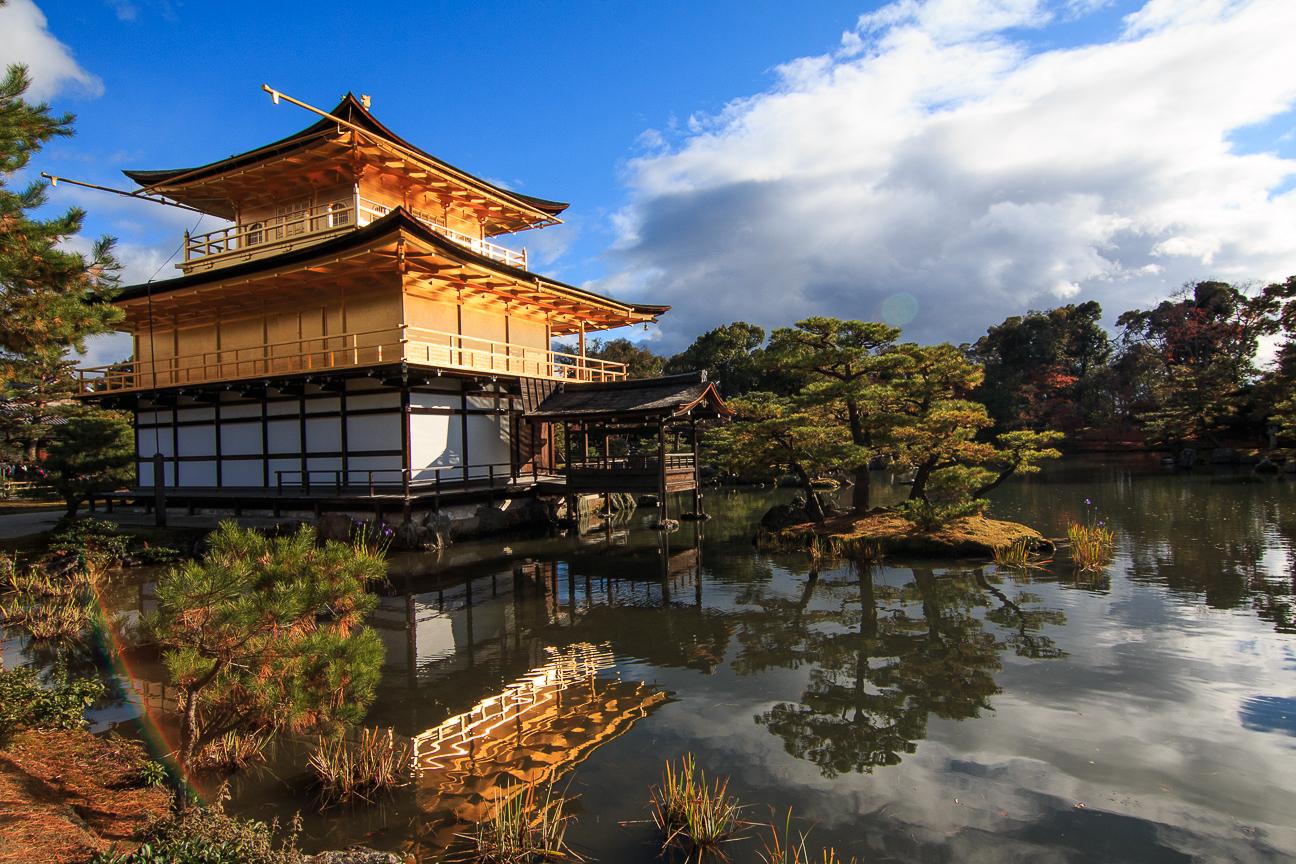 Viaje a Japon Templo dorado en Kyoto
