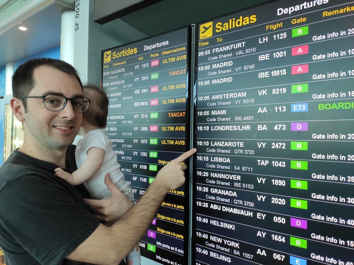 viaje a Lanzarote con un bebe