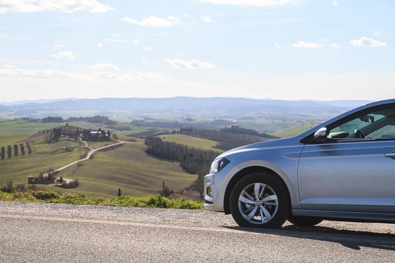 Viaje a Toscana en coche alquiler