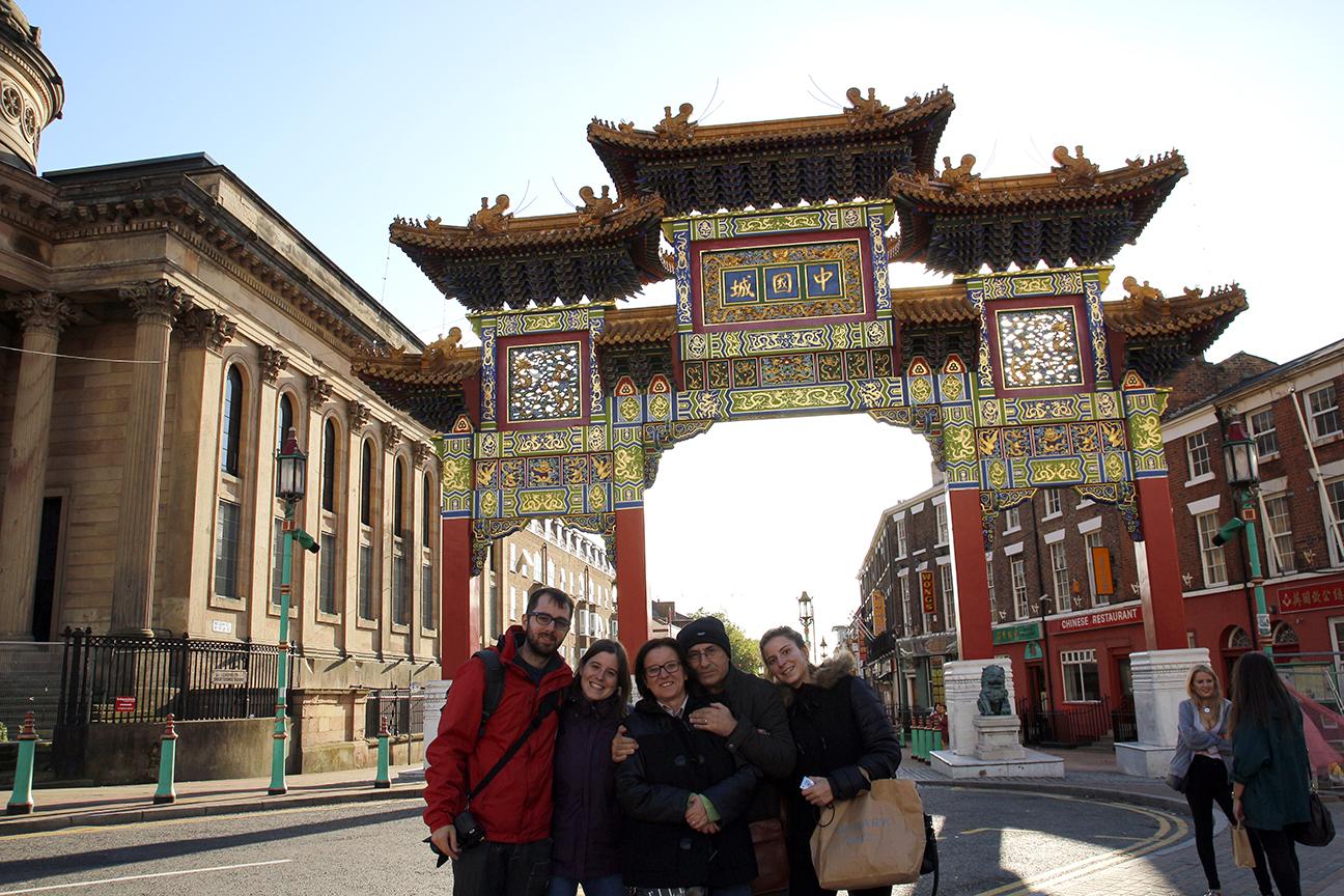 Viaje en familia a Liverpool