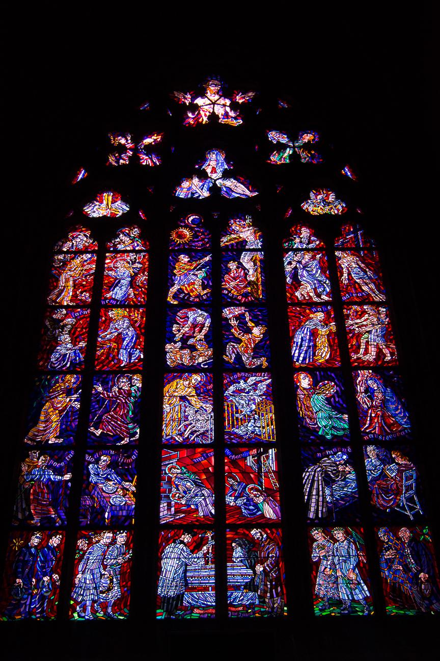 Vidrieras Catedral de San Vito