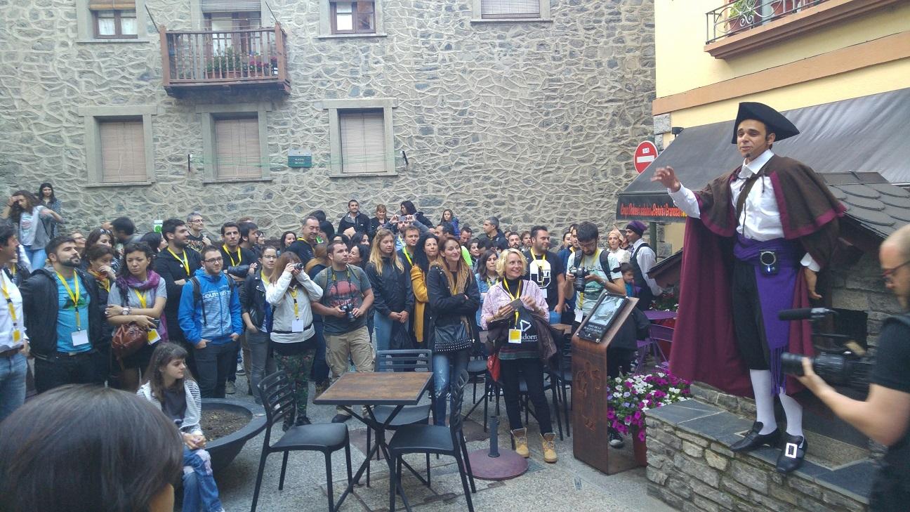 Visita teatralizada por Andorra