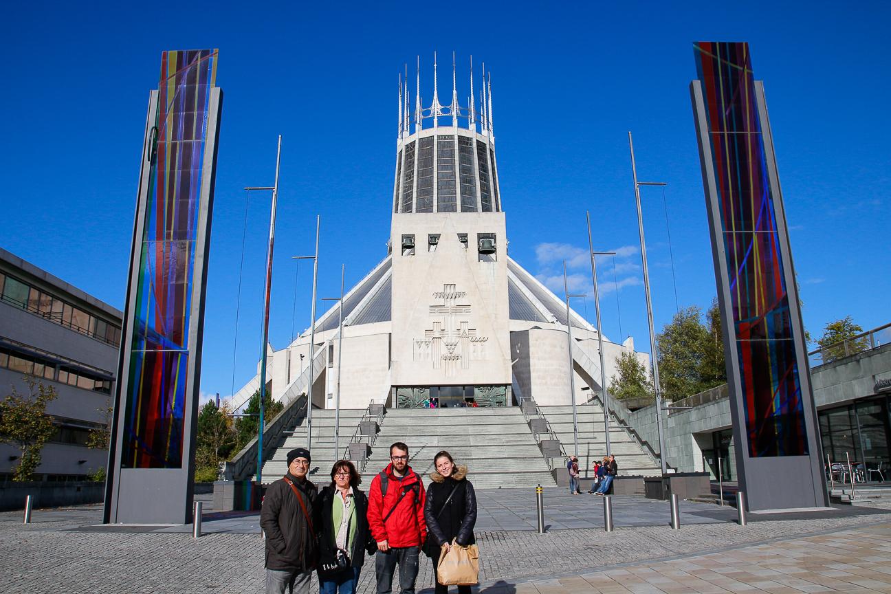 Visitando las catedrales de Liverpool