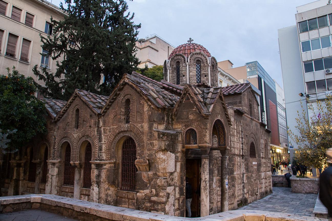 Visitar Atenas Iglesia Kapnikarea