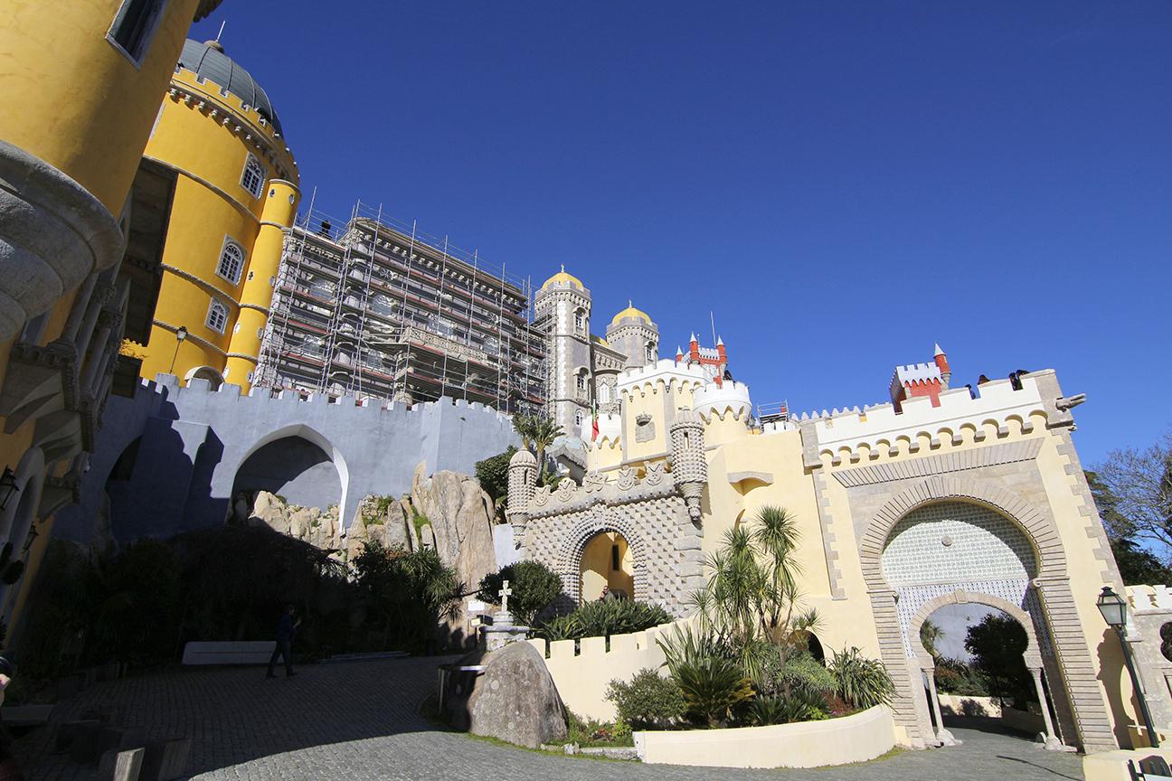 Vista general del Palacio da Pena