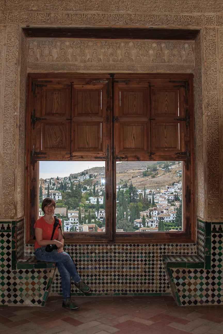 Vistas al Albaicin desde la Alhambra